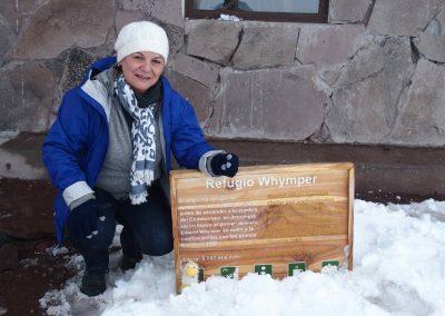 Refuge à 5000 m Chimborazo Equateur