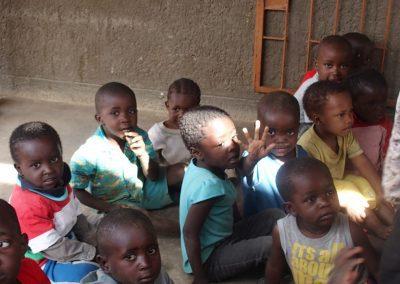 Regards d'enfants Katutura Namibie