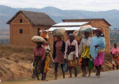 Retour de marché Madagascar
