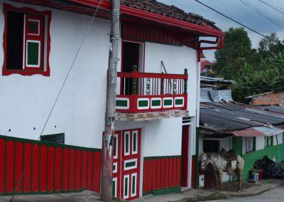 Scène de rue Salento Colombie