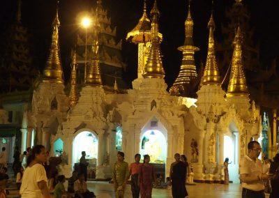 Stupas Shwedagon Birmanie