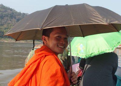 Traversée du Mekong avec Phone Laos