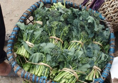 Végétaux marché Bhoutan