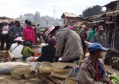 Vie sur le marché Madagascar