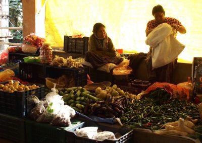 Vie sur marché Bhoutan