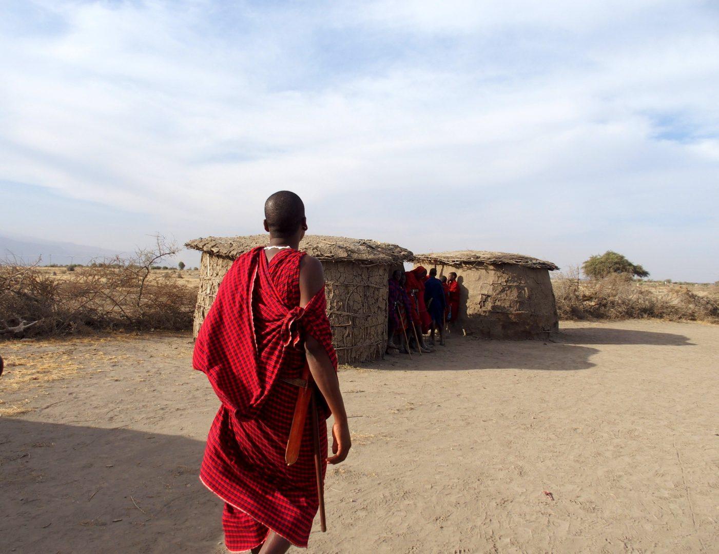 Visite huttes de borma Massaï Tanzanie