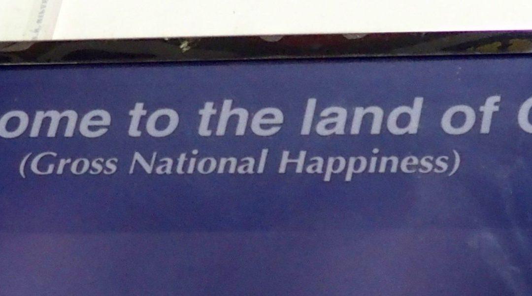 Le Bonheur National Brut au Bhoutan