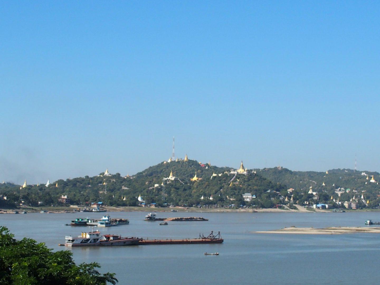 Arrivée à Mingun Birmanie