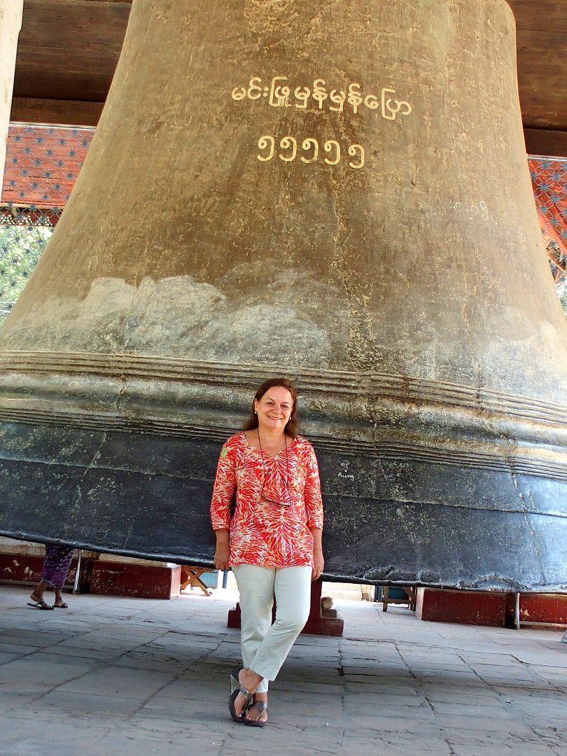 Devant Mingun Bell Birmanie