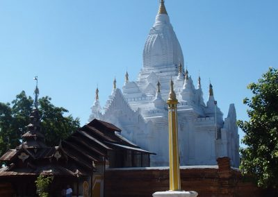 Pagode de plaine Bagan Birmanie