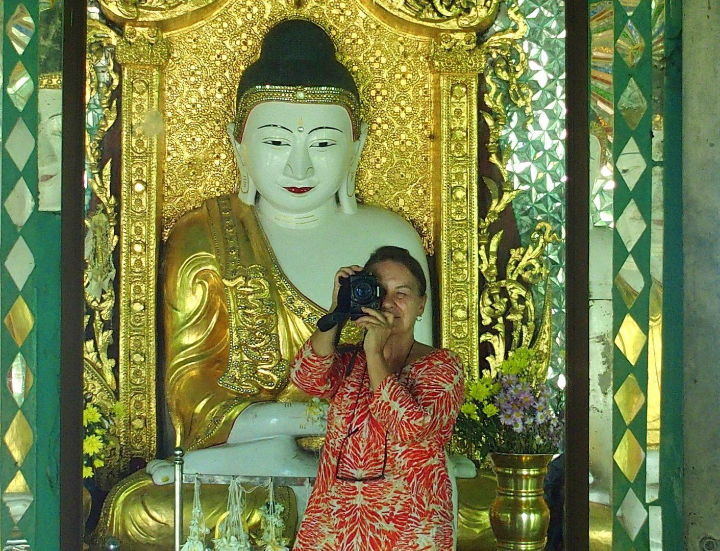 Photo bouddha Sagaing Birmanie