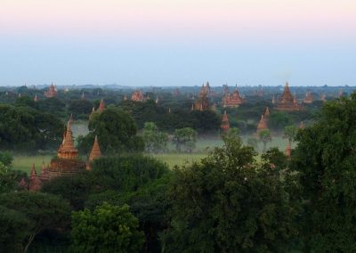 Plaine de Bagan Birmanie