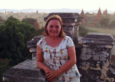 Soirée sur temple Bagan Birmanie