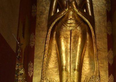 Statue Bouddha Bagan Birmanie