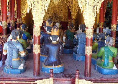 Statuettes Bouddhas Bagan Birmanie