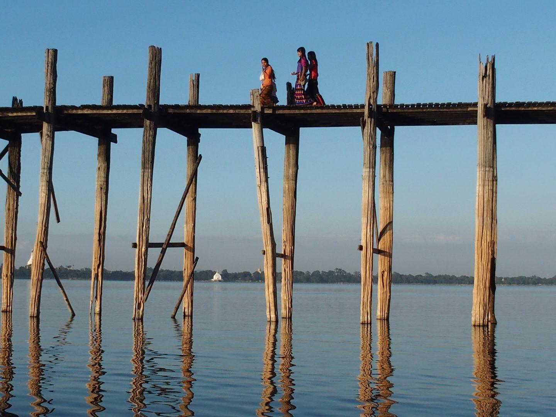 U Bein de jour Amarapura Birmanie