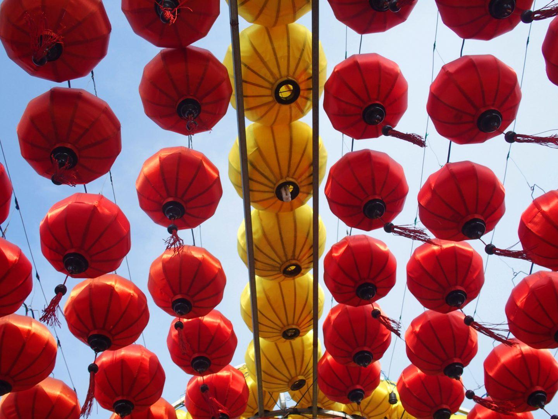 Ciel de lampions Hoï An Vietnam