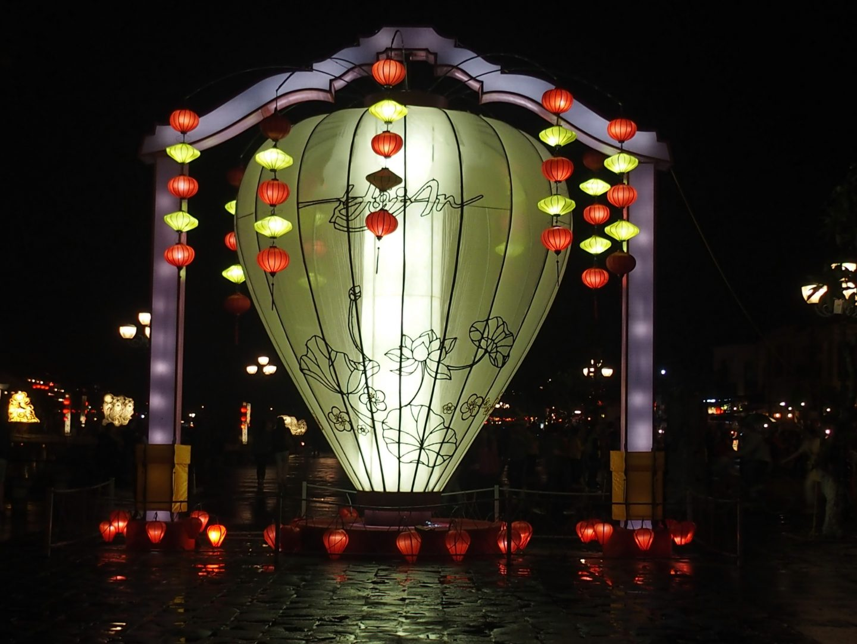Grande lanterne HoÏ An Vietnam
