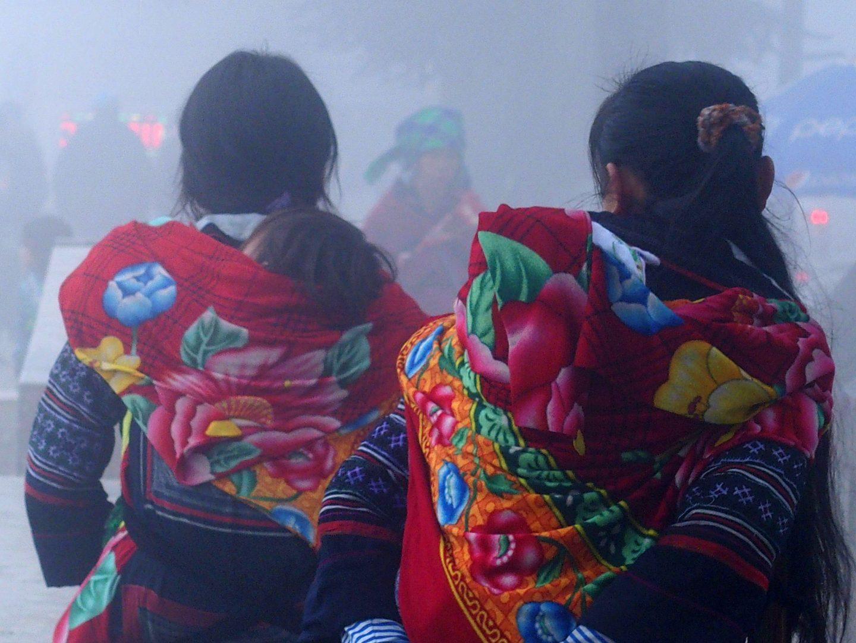 Jeunes femmes Hmong Sapa Vietnam