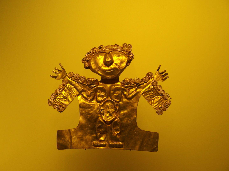 Pièce 3 Musée de l'Or Bogota