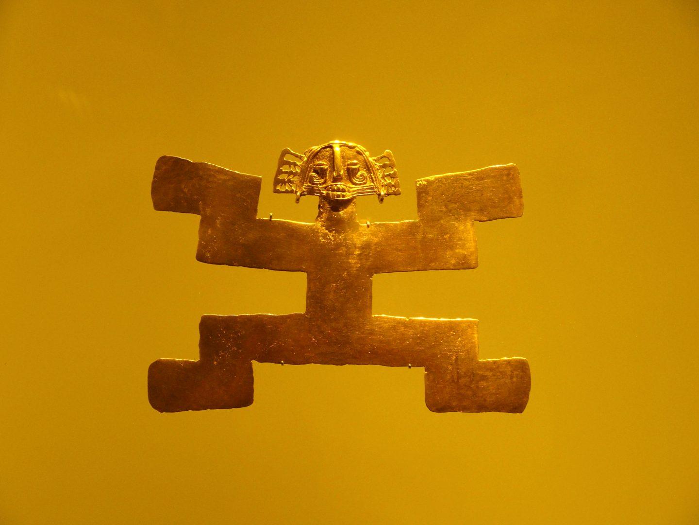 Pièce 4 Musée de l'Or Bogota