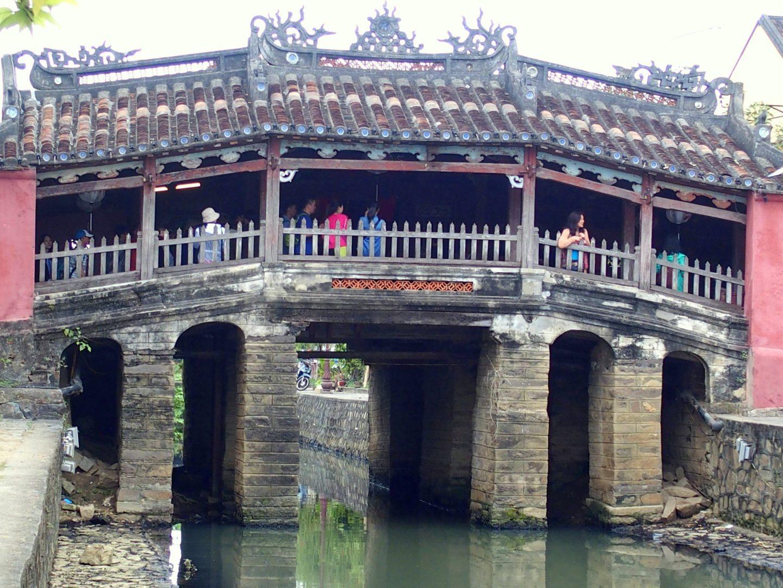 Pont-pagode japonais de jour Hoï An Vietnam