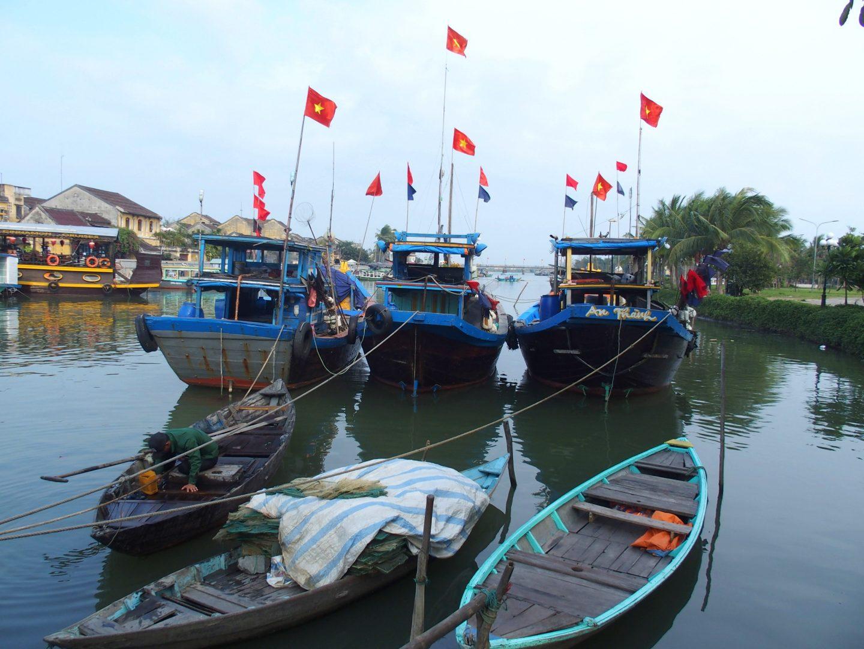 Port pêche Hoï An Vietnam