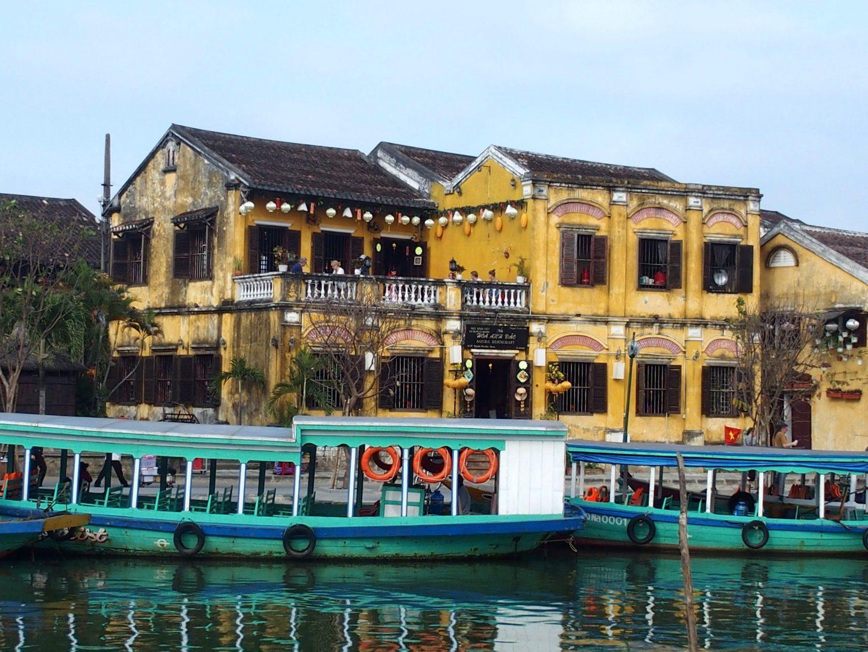Bord de rivière à Hoï An Vietnam