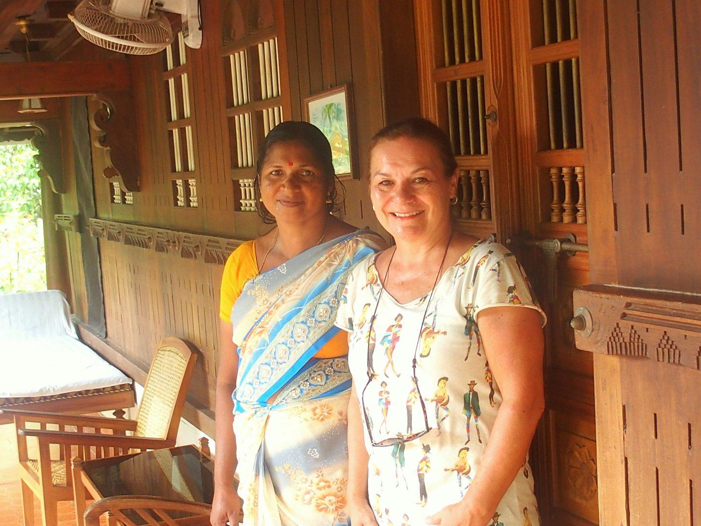 Avec Mandjoura Nelpura Heritage homestay Kerala Inde