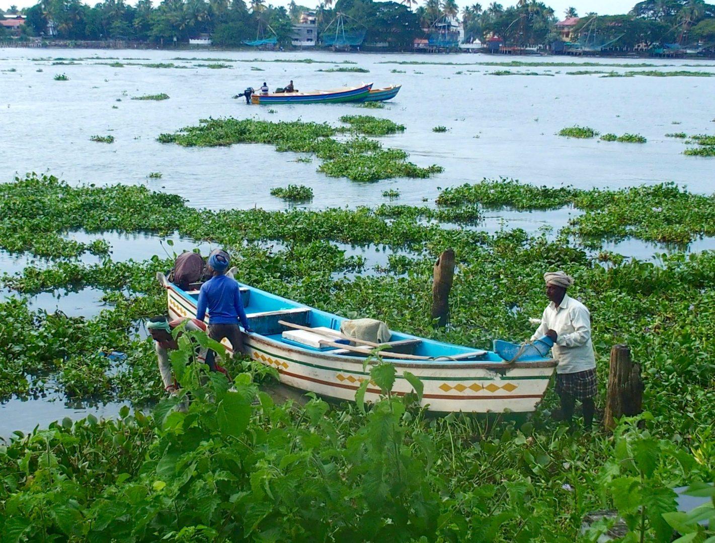 Barque de pêche Cochin Kerala Inde