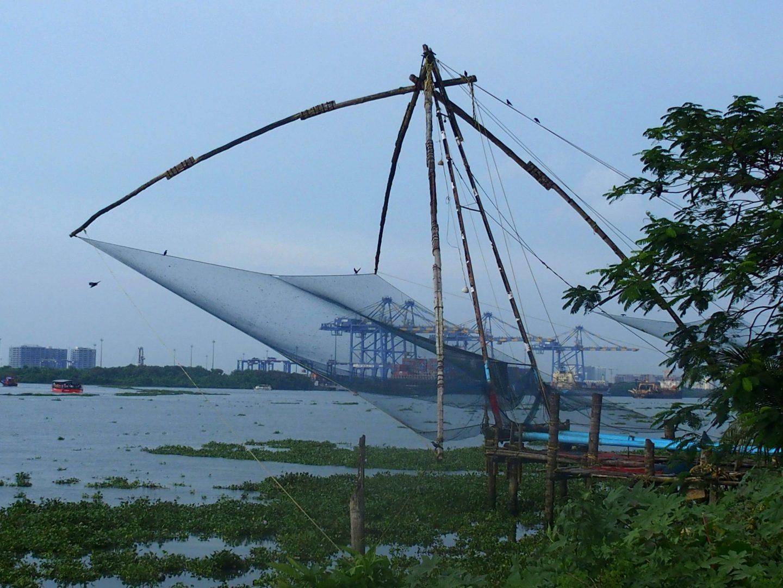 Filet chinois Cochin Kerala Inde