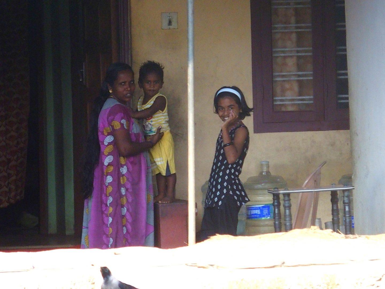 Joli sourire backwater Allepey Kerala Inde
