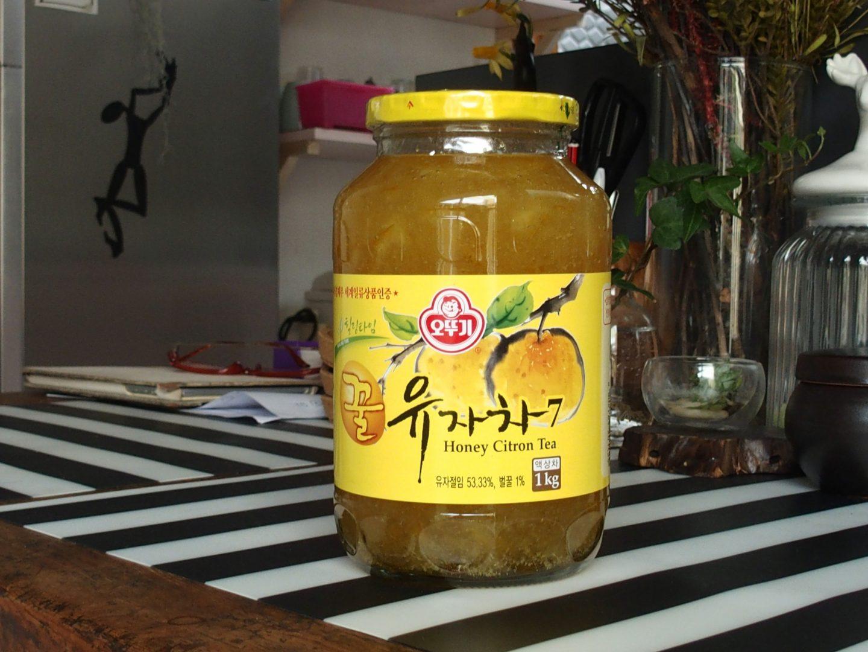Gelée de yusu pour thé Corée du sud
