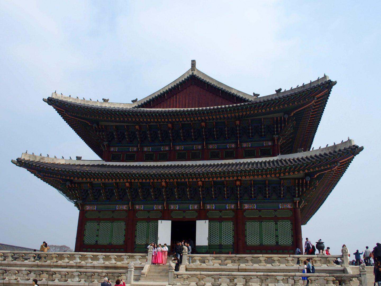 Pavillon Palais royal Seoul Corée du sud