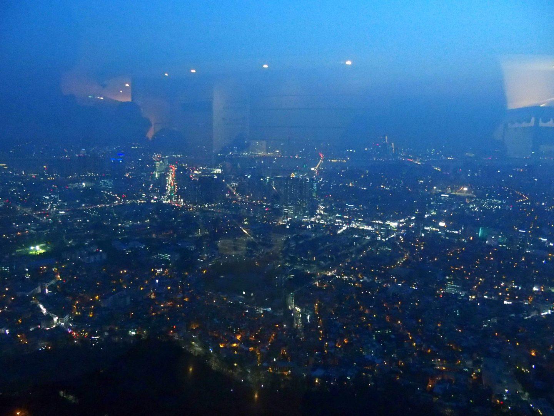 Vue sur Seoul by night NTower Corée du sud
