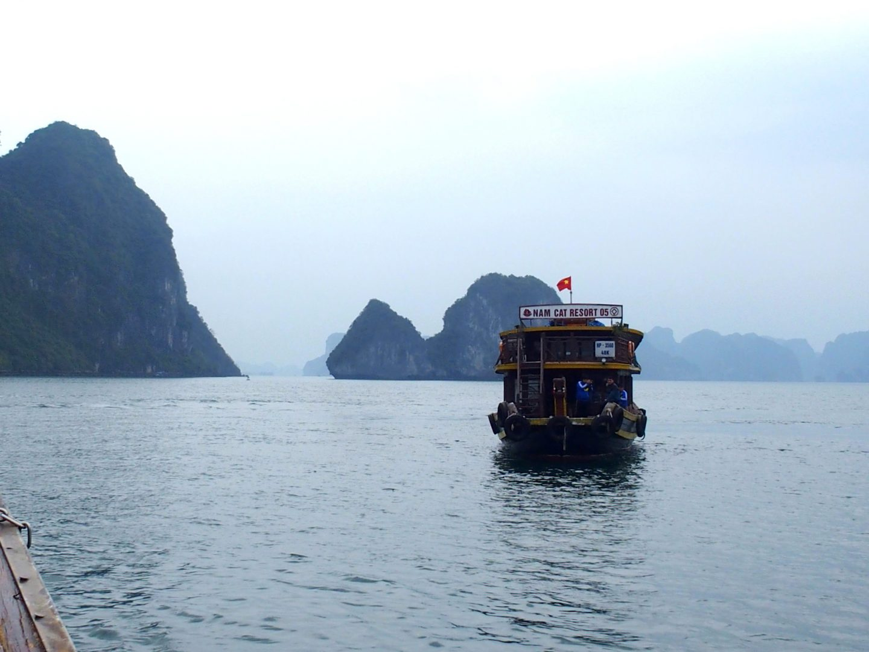 Arrivée navette Nam Cat Resort Baie Lanh Ha Vietnam