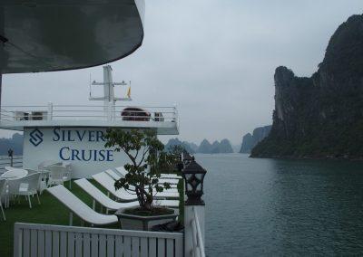 Bateau croisière Silver Cruise Baie d'Halong Vietnam