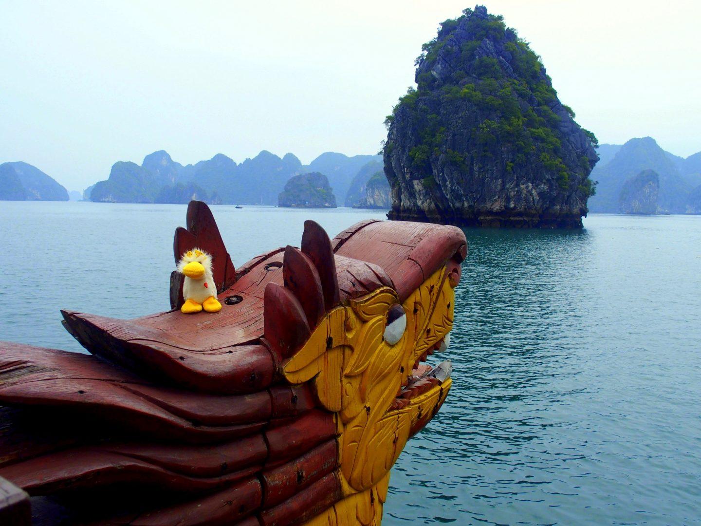 Couinn-Couinn en baie d'Halong Vietnam