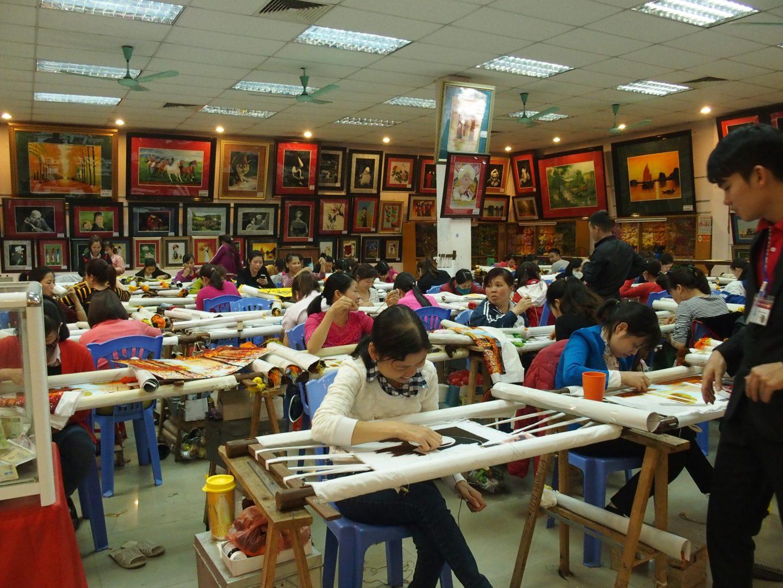 Couturières atelier Vietnam