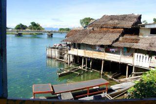 Des surprises sur la route d'Ampana à Sulawesi