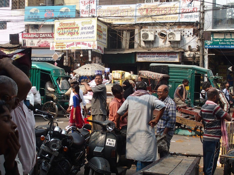 Ambiance rues Old Delhi Inde