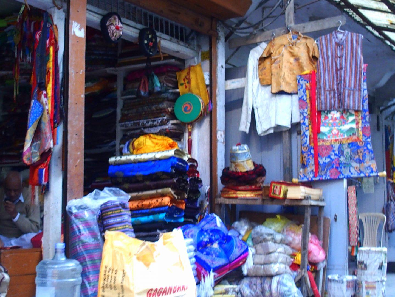 Bazar indien Kalimpong Inde