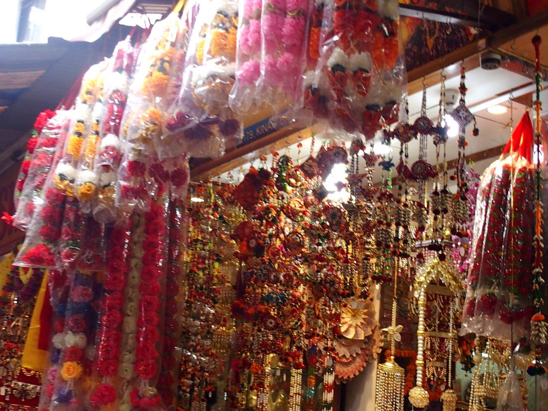 Echoppe décorations Old Delhi Inde