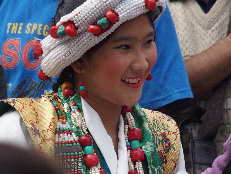 Joli sourire à Kalimpong Inde