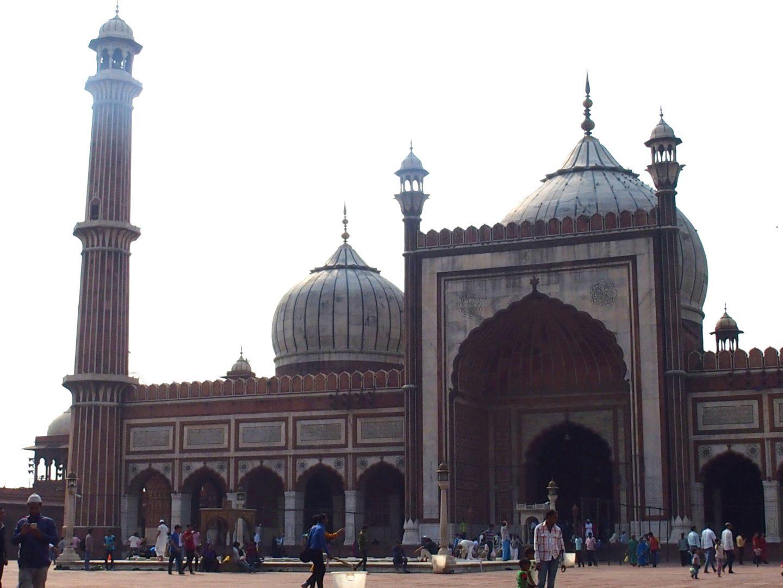 La grande Mosquée New Delhi Inde