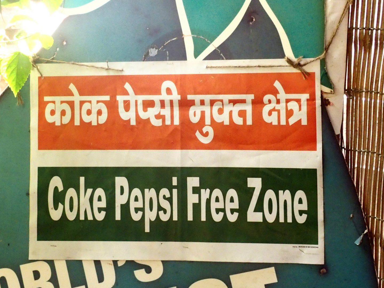 Pas de coca chez Nadvanya New Delhi Inde