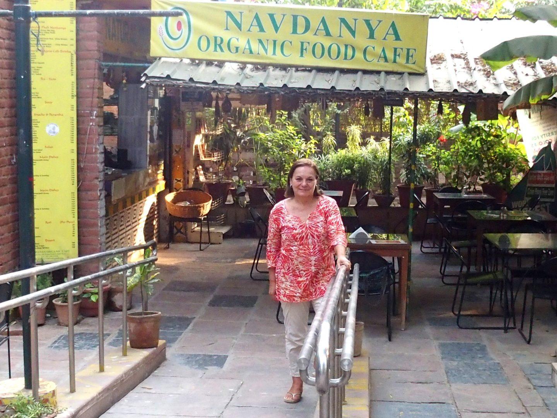 Restaurant Navdanya slow food Delhi Inde