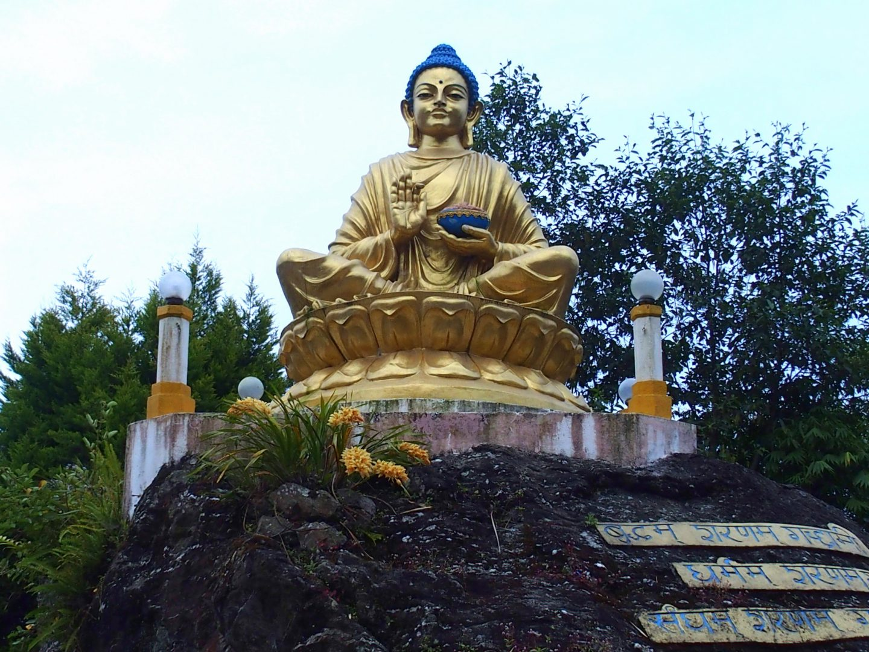 Statue de Bouddha Kalimpong Inde