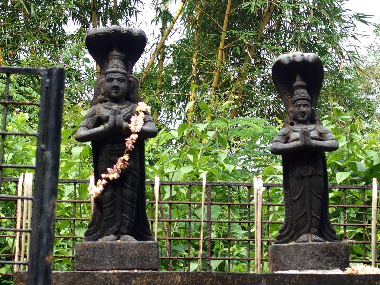 Statues hindoues Vishram Inde