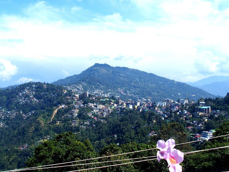 Vue sur Kalimpong Inde